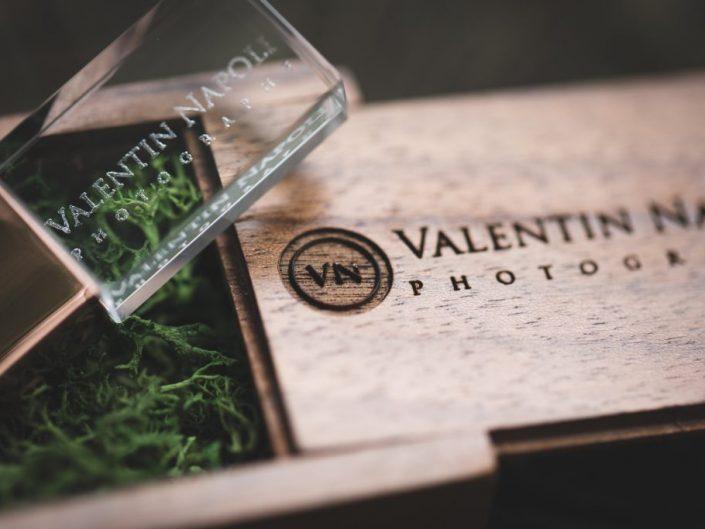 Clé usb pour la livraison par Valentin Napoli de vos photos de mariage