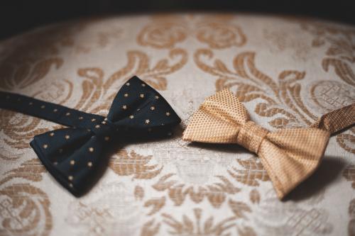Nœuds papillons des mariés