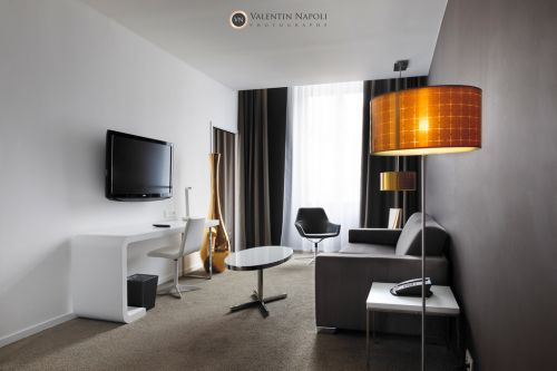 Design d'intérieur dans un hôtel haut de gamme